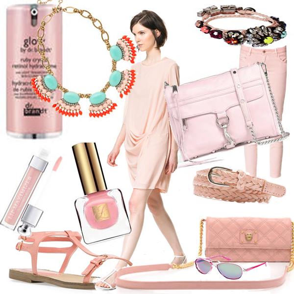ENVIE DE ROSE avec sac