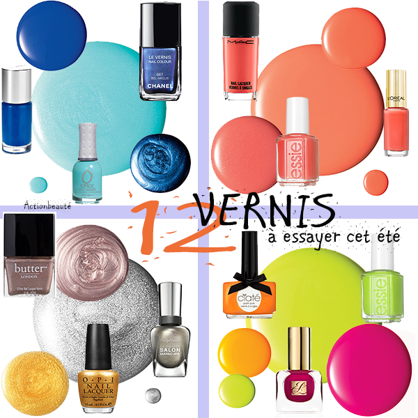 best of summer nail polish