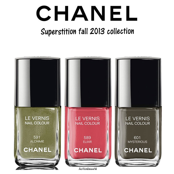 chanel superstition fall 2013 collection