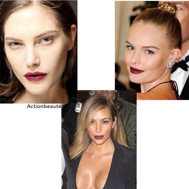 rouge à lèvres bordeaux 2014