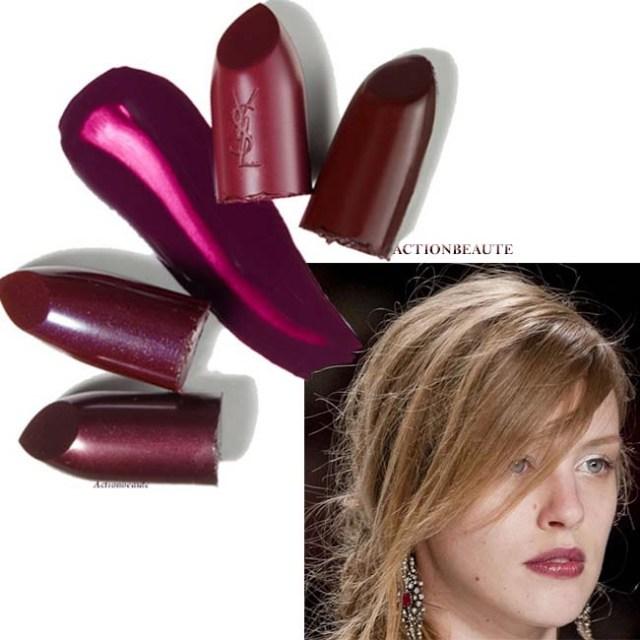rouge à lèvres prune